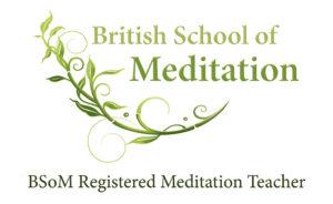 BSoM Registered Meditation Teacher Logo